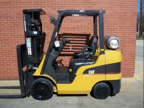 One type of lift truck utilized at Brendamour Warehousing, Distribution & Services